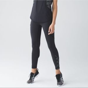 lululemon Limited Edition Lucent Ice Queen Tights